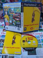 Playstation 2 PS2:Georges le Petit Curieux [TOP & 1ERE EDITION] COMPLET - Fr
