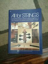 """""""All For Strings"""" Book 2 Viola Brand New Music Book Elementary Method"""