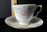 VINTAGE Tea Cup and Saucer QUEEN ANNE BONE CHINA England ***VETERAN OWNED***