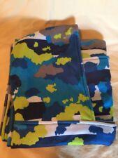 Kids Hooded Blanket, Blue Camo Print NEW