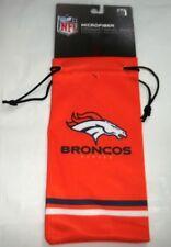 Denver Broncos Official NFL Microfiber Drawstring Bag for Sunglasses or Glasses