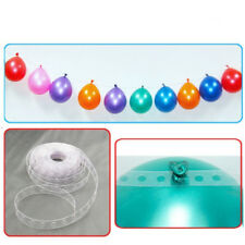 Cute Strip Connect Chain Balloon Decorating Plastic DIY Tape Party Supply 5M