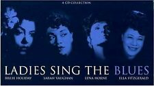 LADIES SING THE BLUES ~ NEW SEALED 4CD HOLIDAY, VAUGHAN, HORNE + ELLA FITZGERALD