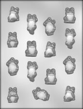 FROG ASSORTMENT CHOCOLATE CANDY MOLD Soap Plaster Craft