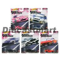 Hot Wheels 1:64 Fast & Furious Quick Shifters Set of 5 Diecast Car GBW75-956J
