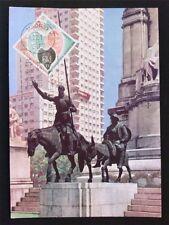 Spain MK 1966 Cervantes Don Quijote Chisciotte cavallo MAXIMUM CARD MC cm c5844