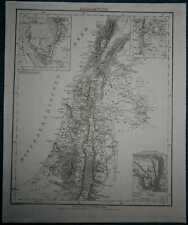 1849 Sohr Berghaus map PALESTINE (#5)