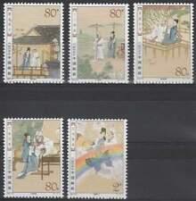 China postfris 2003 MNH 3487-3491 - Liang Shanbo en Zhu Yingtai