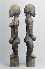 Paire Statue Pombilele Deble SENOUFO SENUFO Ivory Coast figure pair African art