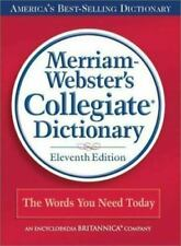 NEW Sealed Book Merriam Webster's Collegiate Hard Cover Dictionary 11th Edition