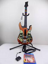 Like New Metallica Ps4 Playstation 4 Rock Band 4 Guitar Hero Controller + Dongle