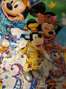 Tokyo Disneyland 30th Anniversary Goofy Keychain Plush