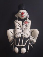 Rare 1982 Clown Statue Signed by R Reeder