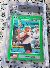 ANDRE AGASSI 1991 Netpro SP Rookie Card RC BGS 9 9.5 Legend HOF Grand Slam $$$