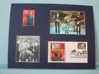 The Beatles debut on The Ed Sullivan Show & First Day Cover of his own stamp