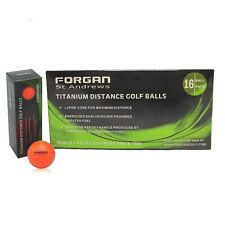 160 Forgan of St Andrews ORANGE TT Distance Golf Balls
