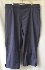 Regatta Woman NEW Plus Size 24-26 3/4 Pants Stretch Work Casual Holiday Travel