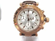 GUESS COLLECTION, SWISS MEN'S DIVERS CHRONOGRAPH WATCH, X58004G1S, NIB, DAD