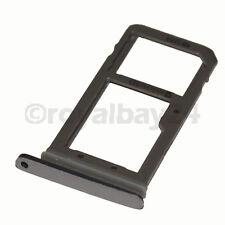 Samsung Galaxy S7 SIM-Halter schwarz Grau tray G930F Card holder microSD black