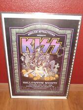 Kiss concert/tour poster S/N Pratt 88/100 Halloween '98