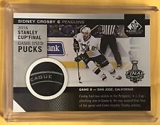 2016-17 SP Game Used Sidney Crosby Game Used Puck GAME 6 STANLEY CUP FINAL