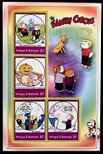 Antigua The Family Circus Stamps Sheet '04 Mnh Comic Strip Animated Cartoon 2780