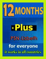 PS Plus 12 MONTHS PSN Plus (No Code) WORLDWIDE