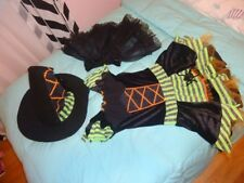 Leg Avenue Witch Halloween Costume - girls - size S/M ( 8-10)
