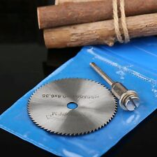 50mm HSS Saw Blade Cutting Wheel Disc Mandrel Set Rotary Tool for Plastic Wood