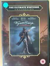 Wyatt Earp DVD 1994 Tombstone OK Corral Western Movie Classic with Kevin Costner