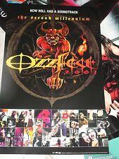 SOUNDTRACK TO OZZFEST 2001  PROMO POSTER