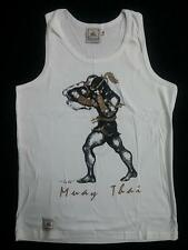 Human Fight Standing Elbow Attack Thai boxing Tank Top -size XL