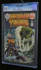 SWAMP THING  # 11 : CGC 9.8 (NEAR MINT/MINT) : AUGUST 1973 : DC COMICS.