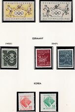 KOREA      1956  16TH OLYMPIC  GAMES     MNH   233