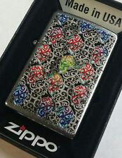 Zippo lighter Skull Day Of The Dead Lighter NEW IN BOX RARE. SKULL