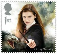 2018 Great Britain 🍁🧹 HARRY POTTER SERIES 🧹 GINNY WEASLEY 🧹🍁MNH Single