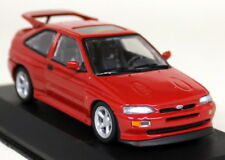 Minichamps 1/43 Scale Ford Escort RS Cosworth 1992 Red Diecast Model Car