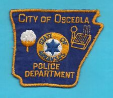 A5 * OSCEOLA ARKANSAS DEPARTMENT STATE POLICE SWAT PATCH TROOPER DPS