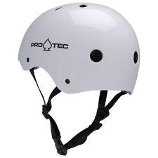 Équipements et protections blancs unisexe pour skate, roller et trottinette