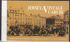 Jersey 1999 Vintage Cars lll Booklet Fine Mint SGSB57 cat £19.00 Face £8.80)