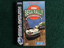 SEGA SATURN SPORTS GAME-SEGA RALLY CHAMPIONSHIP/BOXED/COMPLETE WITH INSTRUCTIONS