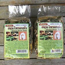 Thai Natural Herbal Steam Bath Body Sauna Detox Spa Aromatic Relax 200 g X 2