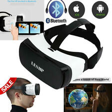 Bluetooth Virtual Reality VR Headset 3D Glasses for IOS Android Mobile theater