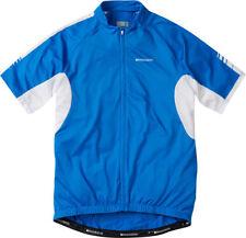 Madison Peloton Men's Short Sleeve Jersey, Large, Blue