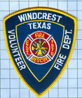 Fire  Patch  - WINDCREST VOLUNTEER FD
