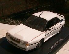 CITROEN BX 4TC 1986 SPORT BLANCHE 1/43 UNIVERSAL HOBBIES EDITIONS ATLAS