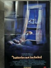 BATTERIES NOT INCLUDED (VIDEO DEALER 40 X 27  POSTER!, 1988) JESSICA TANDY