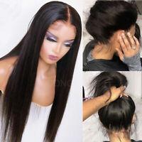 Brazilian Virgin Human Hair Wig 360 Lace Front/Full Lace Wigs Silk Base Straight