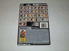 Gi Joe Vintage 1990 ROCK-VIPER UNCUT FULL FILE CARD
