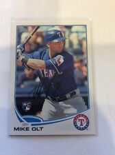 Topps Baseball In Person Autograph Of Texas Rangers Mike Olt RC